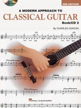 A Modern Approach To Classical Guitar Book 2 With + Cd - Classical Guitar