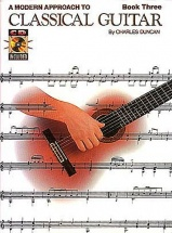A Modern Approach To Classical Guitar Book 3 With Cd + Cd - Guitar
