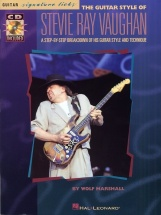 Vaughan Stevie Ray - Guitar Styles Of Signature Licks + Cd - Guitar Tab