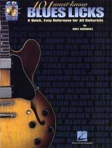 Marshall Wolf - 101 Must-know Blues Licks - Guitar Tab