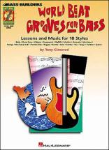 World Beat Grooves For Bass (18 Styles) + Cd