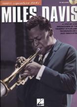 Davis Miles - Signature Licks Trumpet + Cd