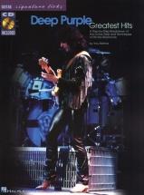 Deep Purple - Greatest Hits - Signature Licks + Cd - Guitar Tab