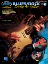 Mi Private Lessons Blues/rock Soloing For Guitar + Cd - Guitar