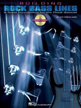 Building Rock Bass Lines + Cd - Bass Guitar