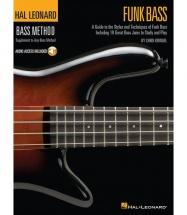 Bass Method Funk Bass + Online Audio - Bass Guitar Tab