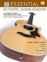 Essential Acoustic Guitar Lessons + Cd - Guitar Tab