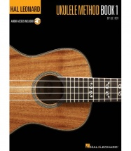 HAL LEONARD UKULELE METHOD BOOK 1 + MP3 - UKULELE