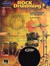 Ed Roscetti - Rock Drumming Workbook Drums + Cd - Drums