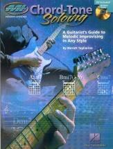 Barrett Tagliarino Chord-tone Soloing + Cd - Guitar