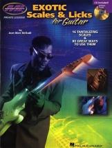 Jean Marc Belkadi Exotic Scales And Licks For Guitar + Cd - Guitar