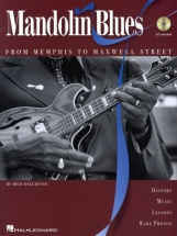 Rich Delgrosso Mandolin Blues From Memphis To Maxwell Street Book/c - Mandolin