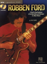Ford Robben - Signature Licks + Cd - Guitar Tab