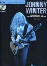Winter Johnny Signature Licks Tab + Cd