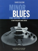 Minor Blues For Guitar Volume 1 + Cd - Pt. 1 - Guitar