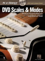 At A Glance Guitar Scales And Modes + Dvd - Guitar
