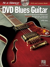 At A Glance Blues Guitar + Dvd - Guitar