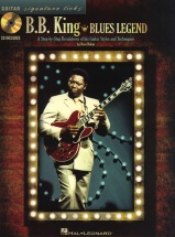 Bb King - Blues Legend Signature Licks Step-by-step Guitar + Cd - Guitar