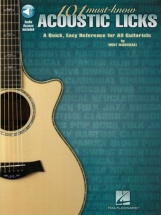 Marshall W. - 101 Must Know Acoustic Licks - Guitar