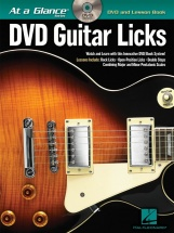 At A Glance Guitar Licks + Dvd - Guitar