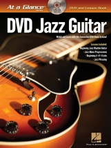 At A Glance Jazz Guitar + Dvd - Guitar