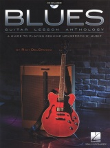 Blues Guitar Lesson Anthology Guide Playing Houserockin' Music + Cd - Guitar Tab