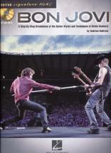 Bon Jovi - Guitar Signature Licks + Cd