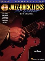 Reh Pro Licks Jazz-rock Licks For Guitar With + Cd - Guitar Tab