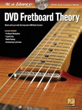 At A Glance Fretboard Theory + Dvd - Guitar