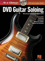 At A Glance Guitar Soloing + Dvd - Guitar