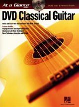 At A Glance Classical Guitar + Dvd - Guitar Tab
