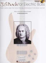 J S Bach For Electric Bass + Cd - Bass Guitar