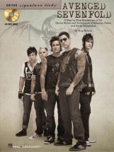 Avenged Sevenfold Signature Licks Guitar Tab + Cd - Guitar
