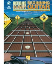 SOKOLOW FRED FRETBOARD ROADMAPS FOR THE BEGINNING GUITARIST + MP3