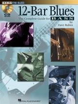 Rubin Dave 12 Bar Blues The Complete Guide For Bass Btab + Cd - Bass Guitar Tab