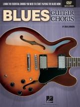 Johnson Chad Blues Guitar Chords Essential Chords + Dvd - Guitar