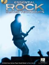Johnson Chad Essential Rock Guitar Techniques 24 Skills + Cd - Guitar