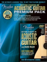 Fender Presents Getting Started On Acoustic Guitar A+ Cd/dvd - Acoustic Guitar