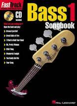 Fast Track Bass 1 Songbook Vol.1 + Cd - Bass Tab