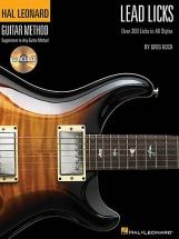 Guitar Method Lead Licks + Cd - Guitar Tab