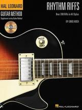 Guitar Method Rhythm Riffs + Cd - Guitar