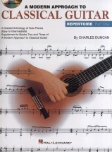 A Modern Approach To Classical Guitar Repertoire Part One + Cd - Guitar