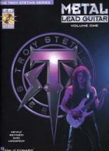 Stetina Troy - Metal Lead Guitar + Cd - Guitar Tab Vol.1
