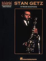 Getz Stan Art Transc Bb Sax Tenor