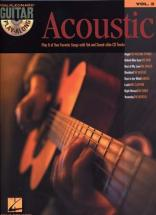 Guitar Play Along Vol.02 - Acoustic + Cd - Guitare Tab