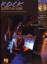 Guitar Play Along Vol.01 - Rock + Cd - Guitar Tab