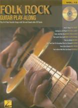 Guitar Play Along Vol.13 - Folk Rock + Cd - Guitar Tab