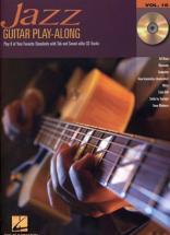 Guitar Play Along Vol.16 Jazz Tab Cd
