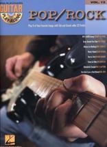 Partition Variete - Guitar Play Along Vol.12 - Pop/rock + Cd - Guitare Tab