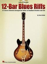 Rubin Dave - 12 Bar Blues Riffs - Guitar